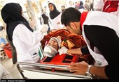 اعزام تیم بهداشتی درمانی به منطقه زلزلهزده بستک