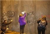 «بیتلحم آزاد»؛ واکنش اعتراضی مسیحیان به دیوارحائل رژیم صهیونیستی+عکس