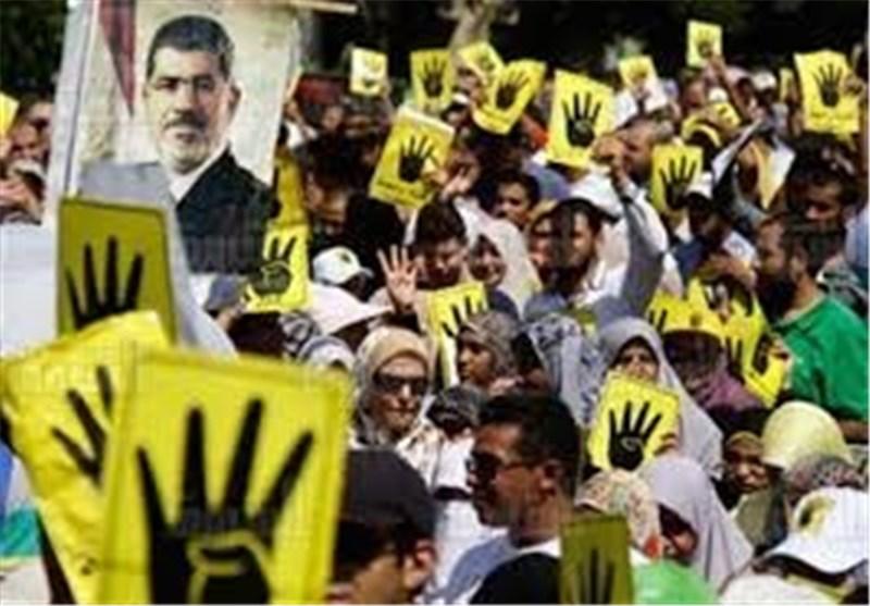 تظاهرات هواداران مرسی در مقابل مقر سازمان ملل در ژنو