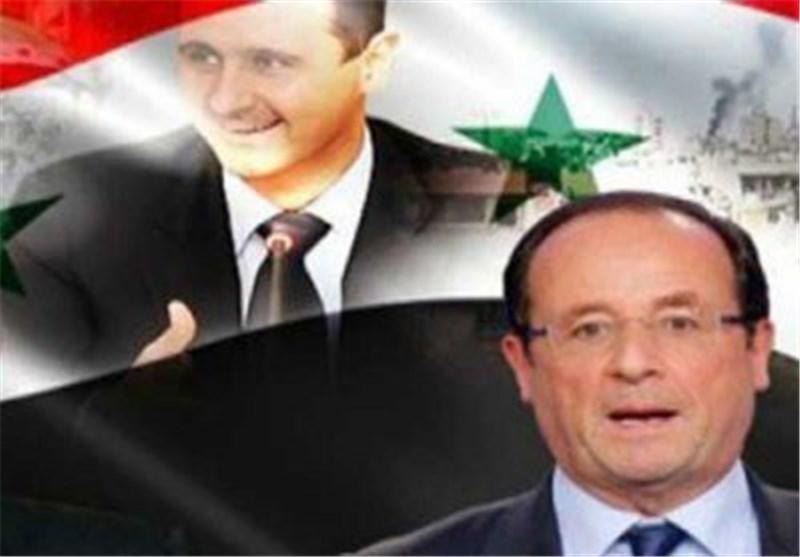 کانال های پنهان پاریس با نزدیکان بشار اسد