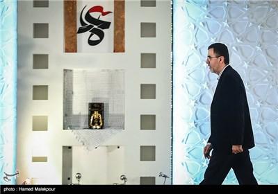حجت الله ایوبی رئیس سازمان سینمایی در مراسم افتتاحیه چهارمین جشنواره مردمی فیلم عمار