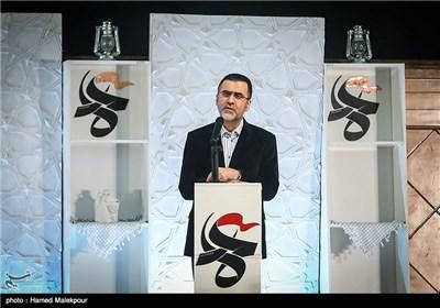 سخنرانی حجت الله ایوبی رئیس سازمان سینمایی در مراسم افتتاحیه چهارمین جشنواره مردمی فیلم عمار