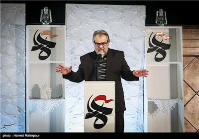 سخنرانی نادر طالب زاده دبیر چهارمین جشنواره مردمی فیلم عمار