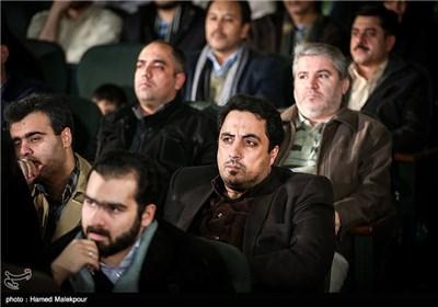 محمدرضا عباسیان در مراسم افتتاحیه چهارمین جشنواره مردمی فیلم عمار