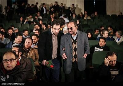 مجتبی شاکری عضو شورای شهر تهران در مراسم افتتاحیه چهارمین جشنواره مردمی فیلم عمار