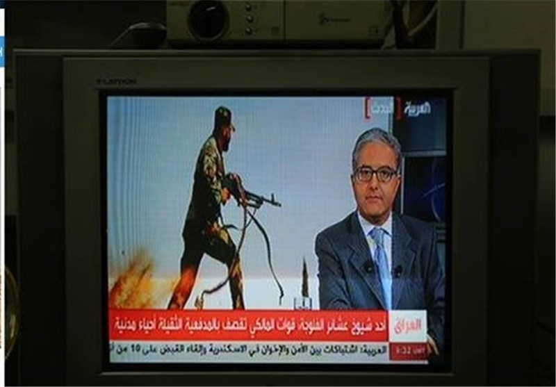 """قناة """"العربیة"""" الوهابیة تفبرک للرأی العام صوراً کاذبة بخصوص معارک الانبار"""