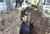 بر طرف شدن قطعی آب در برخی از مناطقی شیراز