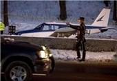 3 زخمی در جریان فرود یک هواپیما در بزرگراهی در نیویورک