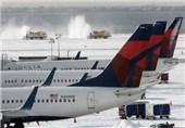 سرمای بیسابقه 4300 پرواز در آمریکا را لغو کرد