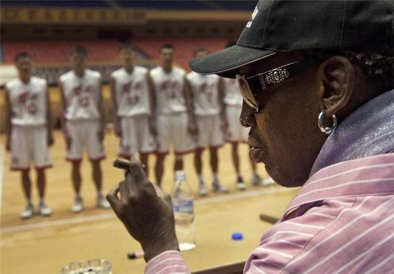 بازیکنان سابق NBA مقابل تیم ملی کره شمالی