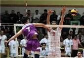 تیم والیبال آلومینیوم هرمزگان برابر شهرداری تبریز پیروز شد