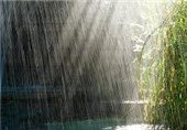 بارش 357 میلمتری باران در جم
