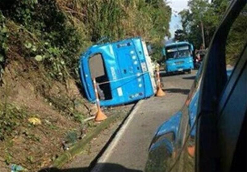 یک کشته و 39 زخمی در واژگونی اتوبوس در کلمبیا