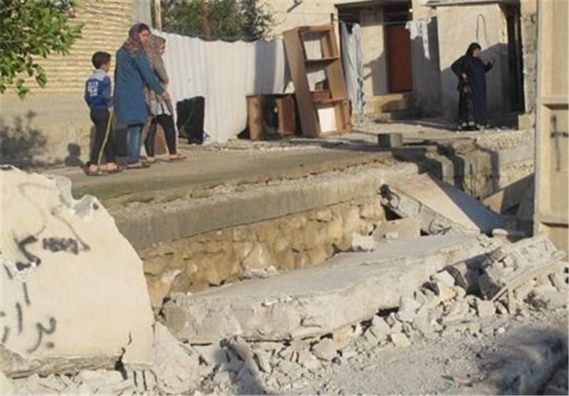 دشتستان زلزله