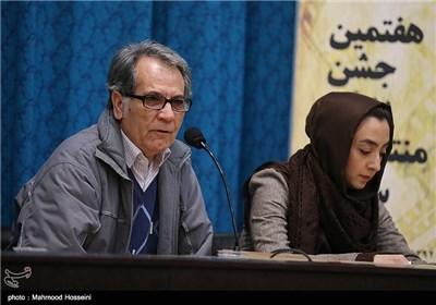 سخنرانی طهماسب صلحجو در نشست خبری هفتمین جشن منتقدان سینما