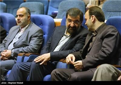 محسن رضایی دبیر مجمع تشخیص مصلحت نظام در همایش نقش پژوهش در قانونگذاری