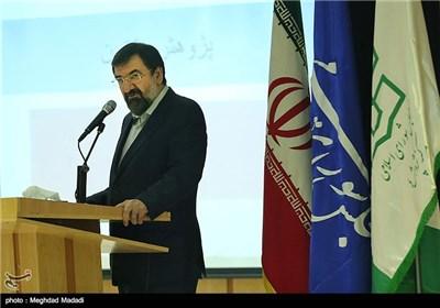 سخنرانی محسن رضایی دبیر مجمع تشخیص مصلحت نظام در همایش نقش پژوهش در قانونگذاری