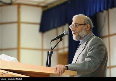 سخنرانی محمد جواد لاریجانی اولین رئیس مرکز پژوهشهای مجلس در همایش نقش پژوهش در قانونگذاری