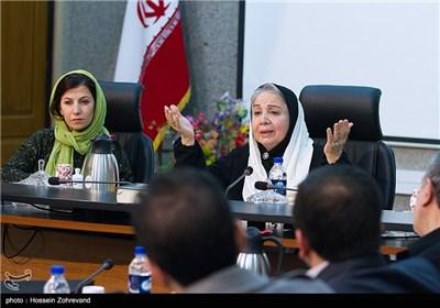 سخنرانی شمسی فضل الهی در دیدار با رئیس شورای شهر تهران