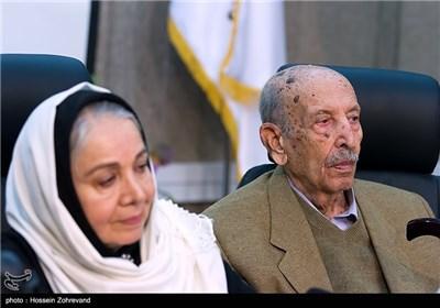 شمسی فضل الهی و مرتضی احمدی بازیگر در دیدار با رئیس شورای شهر تهران