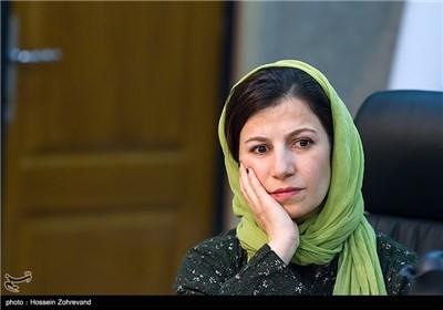 لیلی رشیدی ، بازیگر در دیدار با رئیس شورای شهر تهران
