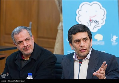 دیدار تعدادی از هنرمندان ( مرتضی احمدی ، شمسی فضل الهی و لیلی رشیدی ) با رییس شورای شهر تهران