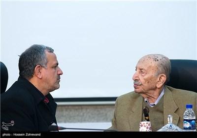 مرتضی احمدی ، بازیگر و احمد مسجد جامعی رئیس شورای شهر تهران