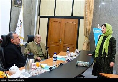 لیلی رشیدی ،مرتضی احمدی و احمد مسجدجامعی رئیس شورای شهر تهران
