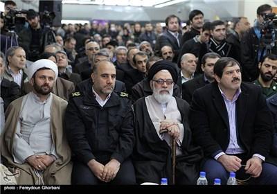 عباس جدیدی و سردار رحیمی در مراسم افتتاح زیرگذر عابر پیاده چهارراه ولیعصر(عج)