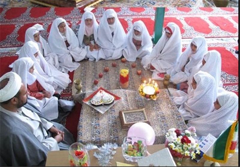 برگزاری جشن تکلیف 1200 دانشآموز دختر شیرازی در حرم شاهچراغ(ع)