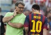 مارتینو: اتلتیکومادرید مستحکمترین تیم است/معلوم نیست مسی بازی میکند یا نه