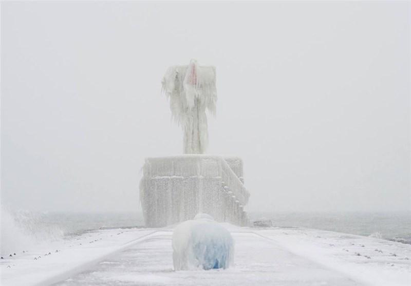 مجسمههای بوران + عکس