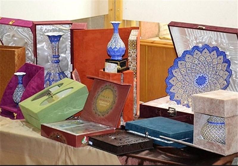نمایشگاه صنایع دستی آینه در آرته نیشابور برپا است