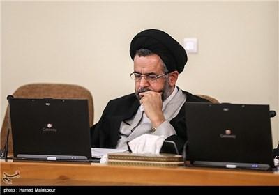 حجت الاسلام سیدمحمود علوی وزیر اطلاعات در جلسه هیئت دولت