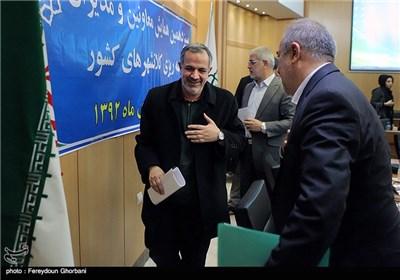 احمد مسجد جامعی رئیس شورای شهر تهران در پایان سیزدهمین همایش معاونین و مدیران برنامه ریزی کلانشهرهای کشور