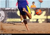 تیم ملی فوتبال ساحلی مقابل عمان شکست خورد