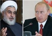 پیام تسلیت پوتین به روحانی/ تأکید بر همکاری با تهران در مبارزه با تروریسم