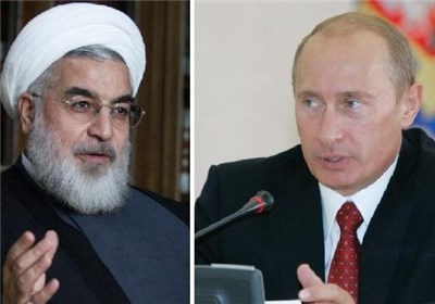 گفتگوی تلفنی پوتین با روحانی/ تأکید بر همکاری با تهران در مبارزه با تروریسم
