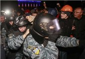 At least 10 Injured in Overnight Clashes Outside Ukraine Court