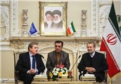 Irish Parliamentary Delegation Meets Iranian Speaker