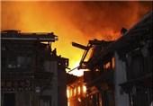 آتشسوزی تبت