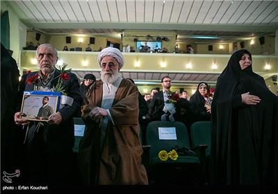 حضور آیت الله احمد جنتی در مراسم اختتامیه چهارمین جشنواره فیلم عمار