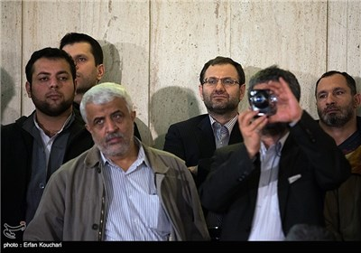 حضور سید نظام الدین موسوی مدیر عامل خبرگزاری فارس در مراسم اختتامیه چهارمین جشنواره فیلم عمار