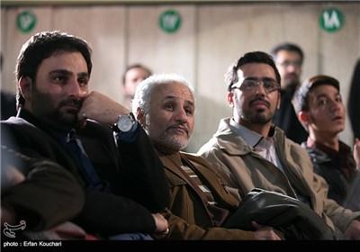 حسن عباسی در مراسم اختتامیه چهارمین جشنواره فیلم عمار