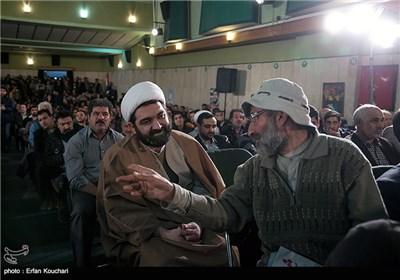 شهاب مرادی رییس سازمان فرهنگی-هنری شهرداری تهران در مراسم اختتامیه چهارمین جشنواره فیلم عمار
