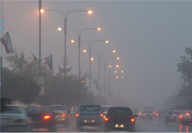 غلظت مه در مهران کاهش دید را به حداکثر رساند