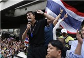 Thai Protesters March on, Defiant after Grenade Attack