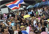 Thai Protesters Surround Cabinet Meeting Venue