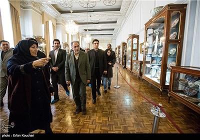 بازدید رئیس میراث فرهنگی از کاخ گلستان