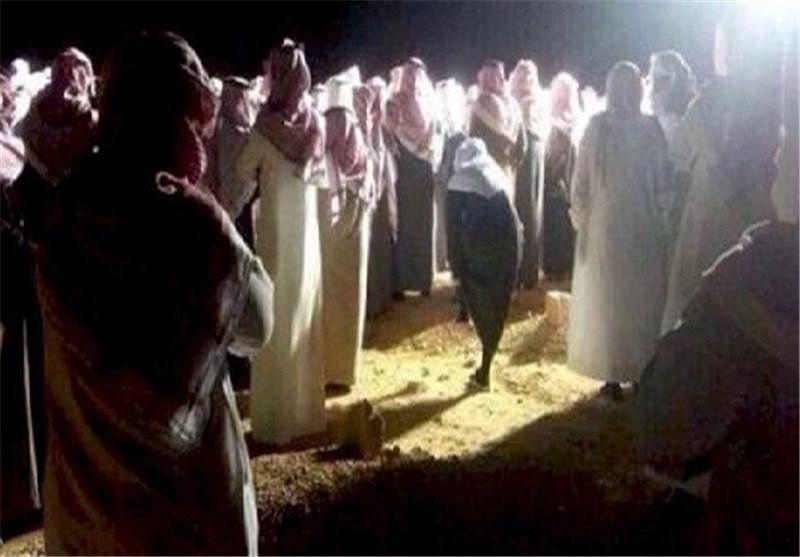تشييع ودفن الارهابي ماجد الماجد